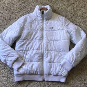 OAKLEY White Puffer Jacket